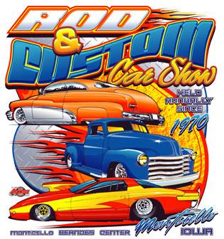 the rod custom car show monticello iowa