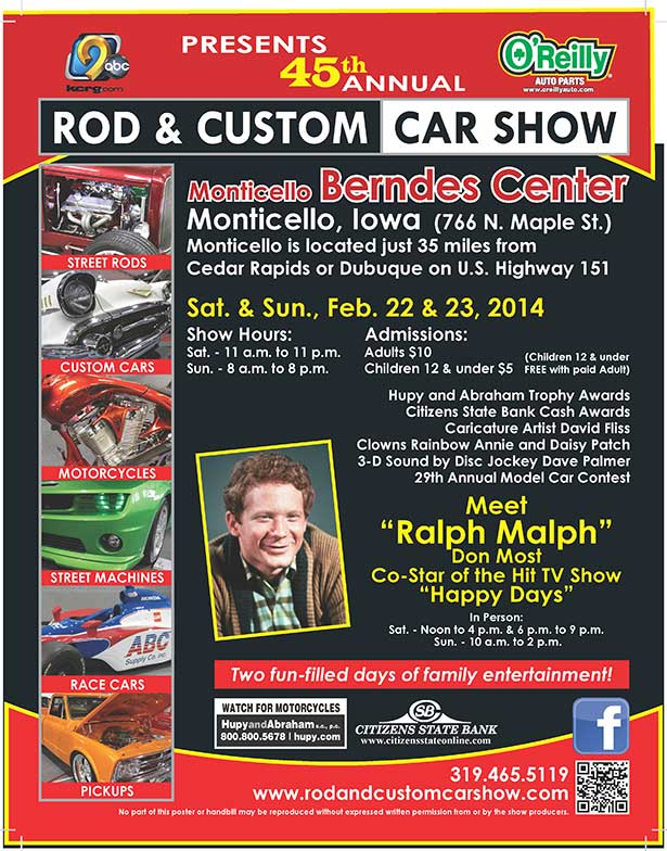 Car Show Monitcello Iowa
